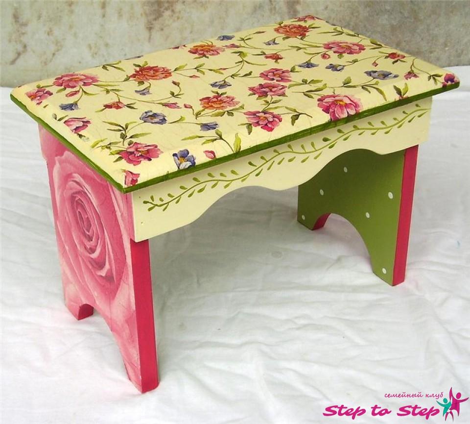 Детский старый стол своими руками